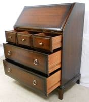 SOLD - Mahogany Writing Bureau by Stag